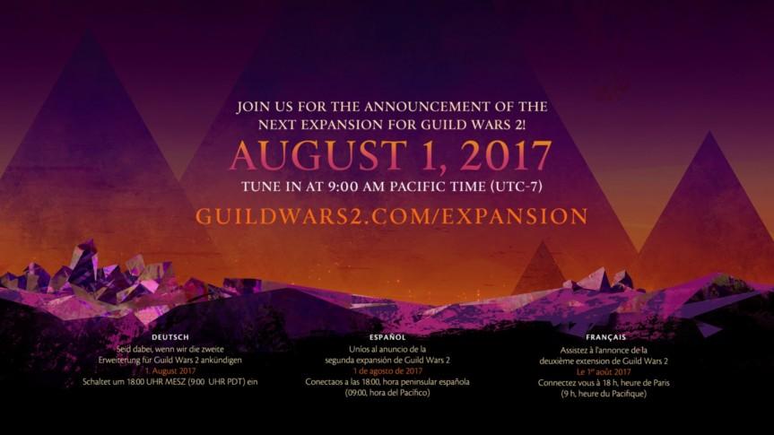 GW2: Expansion Announcement!